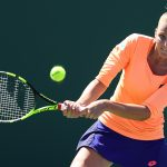 Kristinya Pliskova (the other one) went out in the first round, beaten 76(4) 57 75 by Mandy Minella. Photo: Getty Images