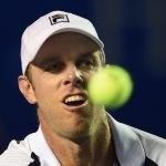 Sam Querrey was a surprise winner against Dominic Thiem. Photo: Getty Images