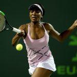 Venus Williams powered past Svetlana Kuznetsova in straight sets. Photo: Getty Images
