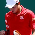 Nishikori came through 67(5) 76(5) 61 in just under three hours. Photo: Getty Images