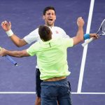 Djokovic and Troicki beat top seeds Herbert and Mahut in the second round. Photo: Getty Images