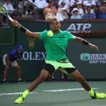 Kyrgios was on top throughout the match. Photo: Getty Images