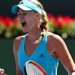 Kristina Mladenovic stunned Caroline Wozniacki, winning 36 76(4) 62. Photo: Getty Images