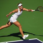 Kerber has been handed a tough Indian Wells draw. Photo: Getty Images