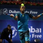 Gael Monfils suffered a surprise defeat to Fernando Verdasco in Dubai. Photo: Getty Images