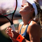 Angelique Kerber needed three sets to get past Pauline Parmentier. Photo: Getty Images