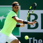 Rafael Nadal looked impressive during his win over Fernando Verdasco. Photo: Getty Images