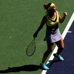Svetlana Kuznetsova was the first woman into the quarterfinals. Photo: Getty Images