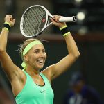 Elena Vesnina beat Angelique Kerber in straight sets. Photo: Getty Images