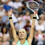 Elena Vesnina is enjoying a dream run at Indian Wells. Photo: Getty Images