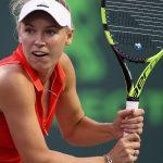 Caroline Wozniacki eased past Varvara Lepchenko 61 62. Photo: Getty Images
