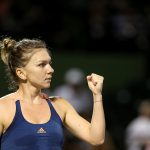 Simona Halep was a 63 60 winner over Kontaveit. Photo: Getty Images
