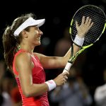 Jo Konta is through to the biggest final of her career. Photo: Getty Images