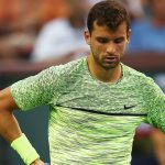Grigor Dimitrov went out in a thrilling tiebreak against Jack Sock. Photo: Getty Images