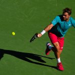 Stan Wawrinka was playing in his first Indian Wells final. Photo: Getty Images