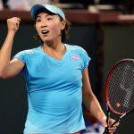 Peng Shuai ousted sixth seed Aga Radwanska 64 64. Photo: Getty Images