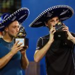 Bruno Soares and Jamie Murray won the men's doubles in Acapulco. Photo: Getty Images