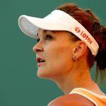 Agnieszka Radwanska secured a relatively rare win. Photo: Getty Images