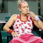 Bethanie Mattek-Sands wonders where it all went wrong during her defeat to Kristyna Pliskova. Photo: Getty Images