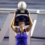 Tsurenko beat Mladenovic to win the WTA Acapulco title. Photo: Getty Images