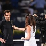 Murray couldn't believe his luck at getting out of the second set tiebreak. Photo: Getty Images