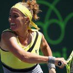 Svetlana Kuznetsova was a comfortable 64 62 winner over Taylor Townsend. Photo: Getty Images