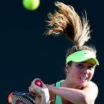 Elina Svitolina was beaten in a topsy turvey match against Garbine Muguruza. Photo: Getty Images