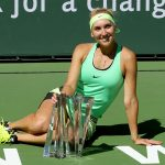 Elena Vesnina won a titanic match 67(6) 75 64. Photo: Getty Images