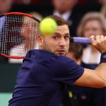 Dan Evans suffered a straight sets defeat to Jeremy Chardy. Photo: Getty Images