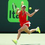 Caroline Wozniacki pushed Konta hard during the final. Photo: Getty Images