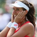 Jo Konta realises that she has just won the biggest title of her career. Photo: Getty Images