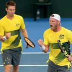John Peers and Sam Groth went down in five sets to the USA. Photo: Getty Images