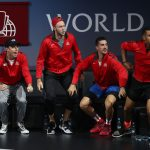 The Team World bench were always vocal in their support. Photo: Getty Images