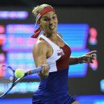 Dominika Cibulkova looked strong as she dismissed Siniakova 6-2 6-2. Photo: Getty Images