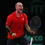 Steve Darcis downed Jordan Thompson in straight sets to seal the win for Belgium. Photo: Getty Images