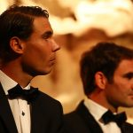 The tennis world is hoping Roger and Rafa will team up in a Laver Cup doubles match. Photo: Getty Images