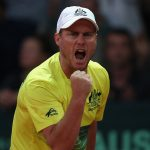 Lleyton Hewitt juggled his Australian team, but they ultimately fell short. Photo: Getty Images