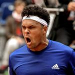 Tsonga wowed the French fans with his comeback win over Lajovic. Photo: Getty Images