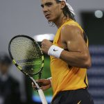 Early in his career, Rafael Nadal liked to dress like a pirate. Photo: Getty Images