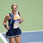 Anastasia Pavlyuchenkova needed three sets to get past China's Qiang Wang 6-4 4-6 6-2. Photo: Getty Images
