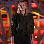 Maria Sharapova poses in front of China's National Stadium; Getty Images