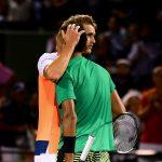 Nick Kyrgios (R) d. Alexander Zverev 64 67(9) 63 - Miami Open 2017 quarterfinals; Getty Images