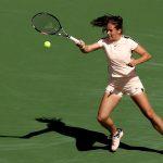 Daria Kasatkina had beaten major champions Sloane Stephens, Caroline Wozniacki, Angelique Kerber and Venus Williams en route to the final; Getty Images