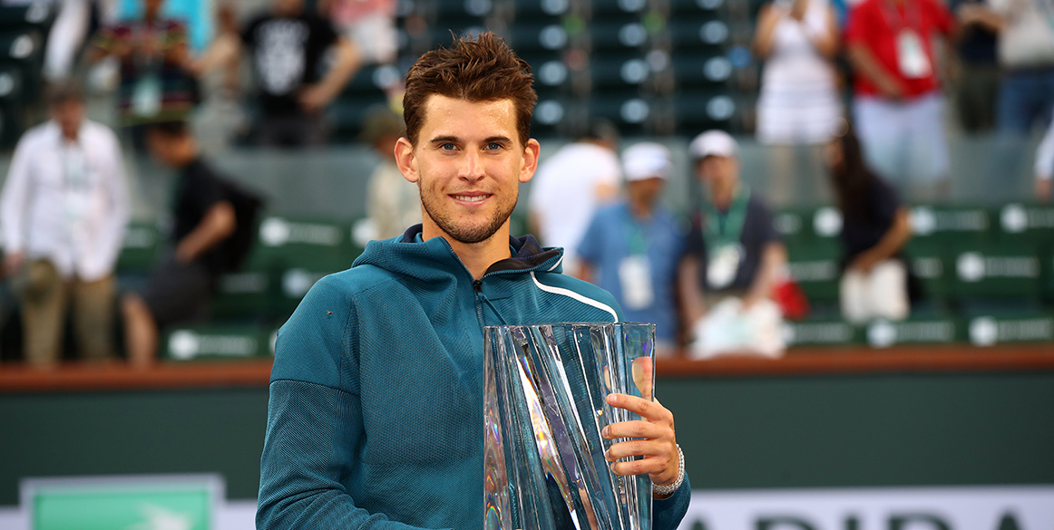 Indian Wells: Thiem tames Federer to win first Masters title